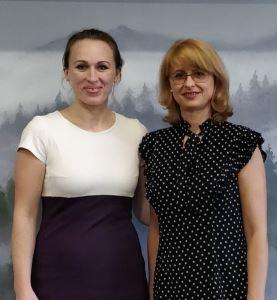 Оксана Сахранова и Виктория Паничева